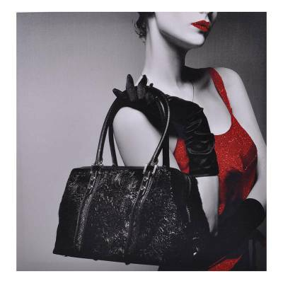 Κάδρο γυναικεία τσάντα με gliter