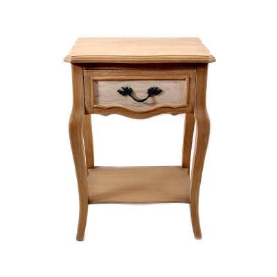 Tραπέζι Γωνίας με Συρτάρι Αντικέ