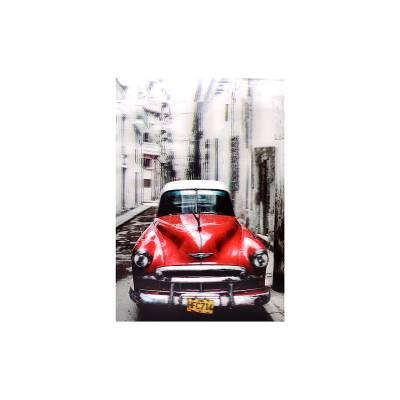 Κάδρο 3D Cuba Car