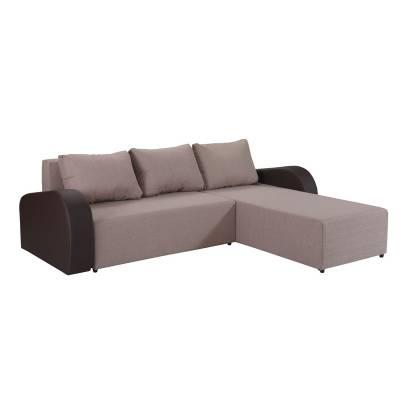 Γωνιακός Καναπές Κρεβάτι Karmen 251×191 εκ