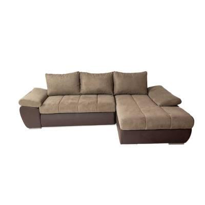 Γωνιακός Καναπές Κρεβάτι Omega Δεξιά 260×172 εκ
