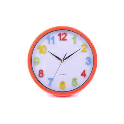 Ρολόι χρωματιστό με κόκκινο