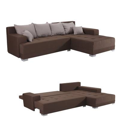 Γωνιακός Καναπές Κρεβάτι Galija Lux 266,5×178 εκ