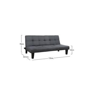 Καναπές Κρεβάτι HM3000.02    179×80 εκ