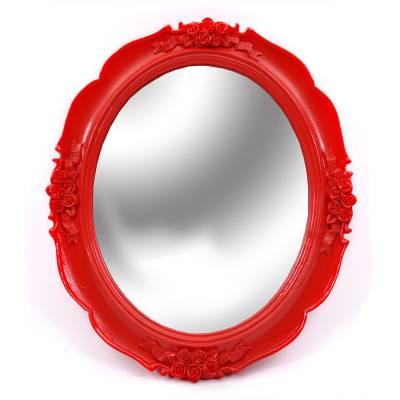 Καθρέφτης Κόκκινο Στεφάνι