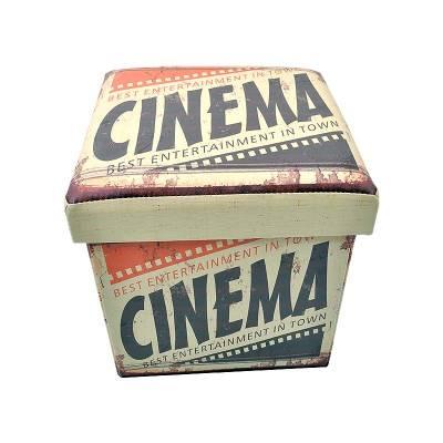 Σκαμπό με Αποθηκευτικό Χώρο Cinema