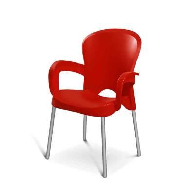 Καρέκλα Evelin με Μπράτσα